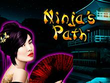 Путь Ниндзя от компании Novomatic с хорошими бонусами и призами