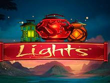 Игровой автомат Lights с качественной графикой и бонусами